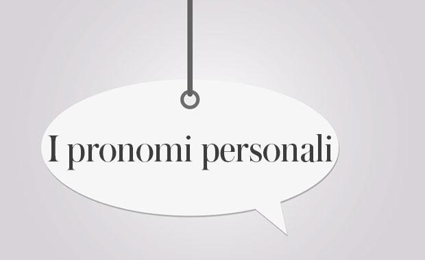 Personalpronomen im Italienischen | Adesso